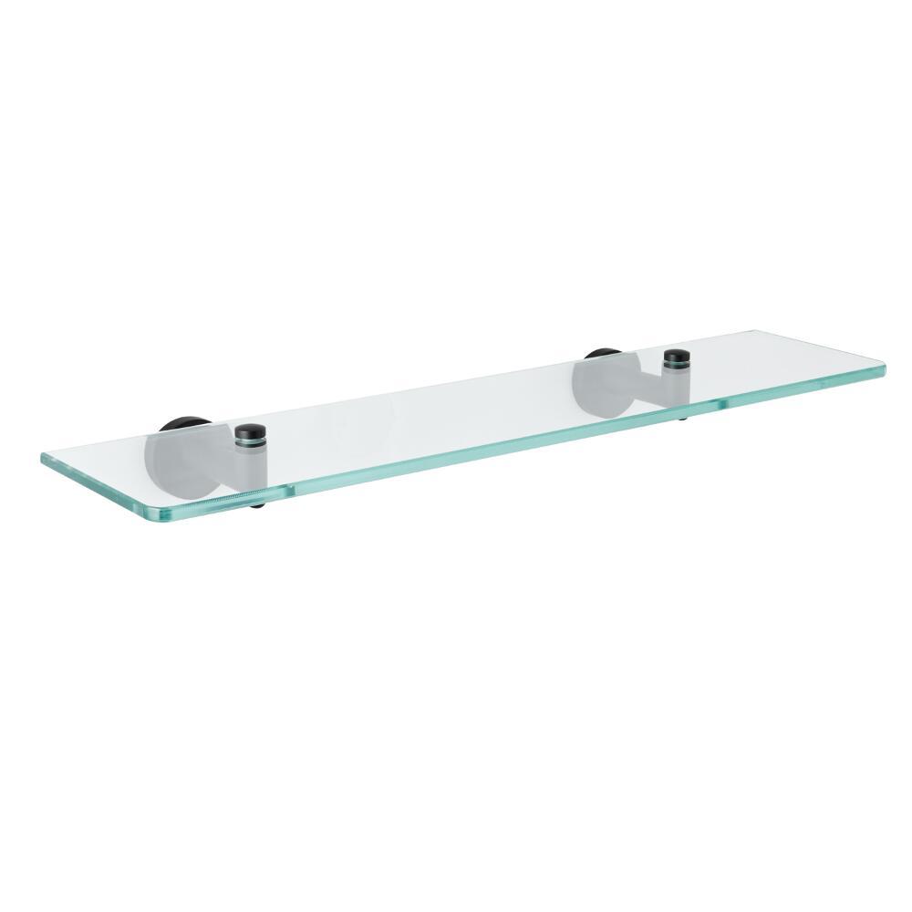 Etagère en verre noir mat – Nox