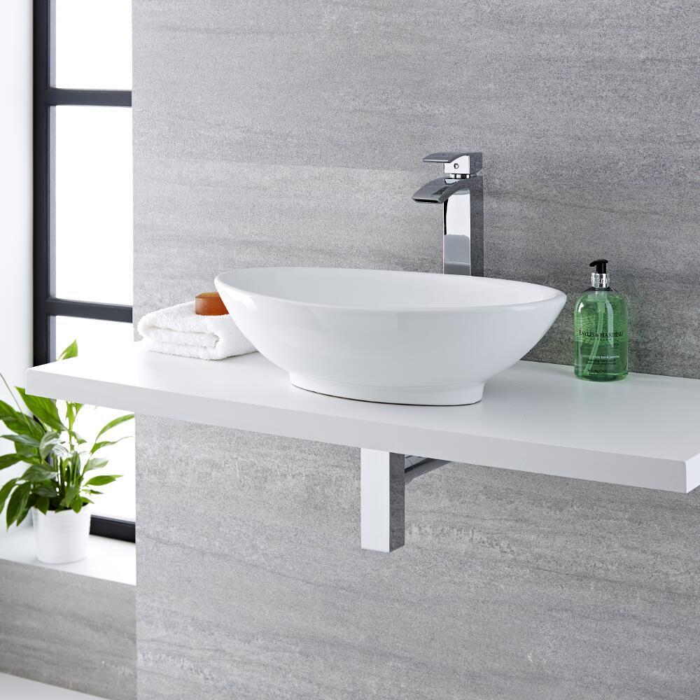 vasque poser ovale 52 x 32cm kenton. Black Bedroom Furniture Sets. Home Design Ideas