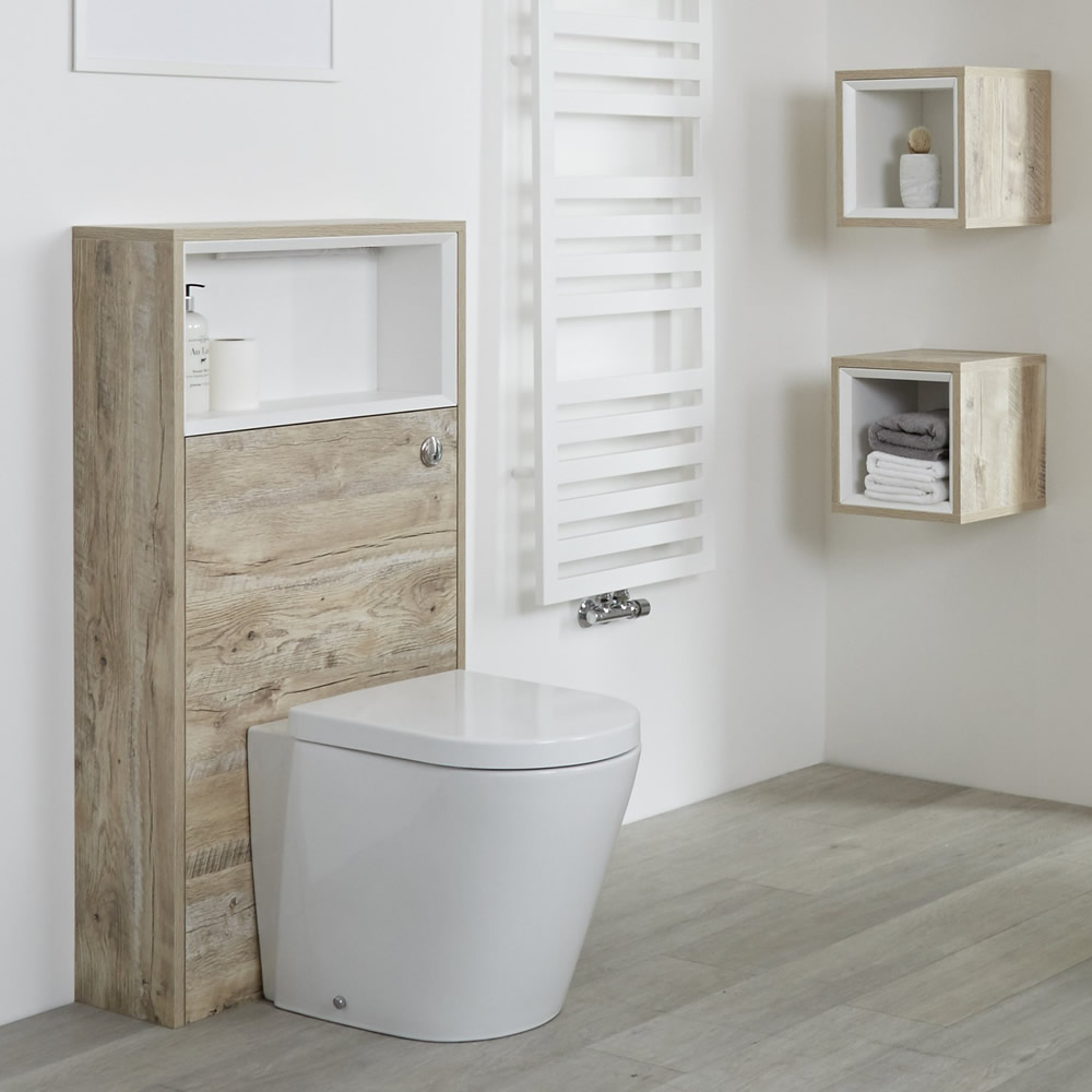 Habillage WC Hoxton Chêne Clair - 60x115cm