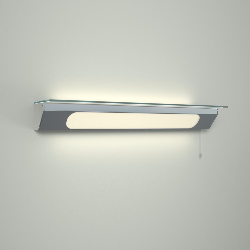 Étagère salle de bain lumineuse 7.5x60.x12cm Achen