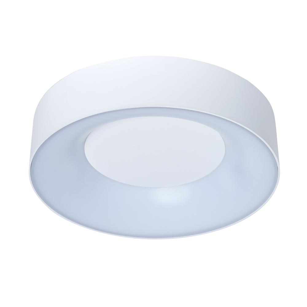 Plafonnier LED 18W IP54 – Lecce Rond Blanc Ø30cm