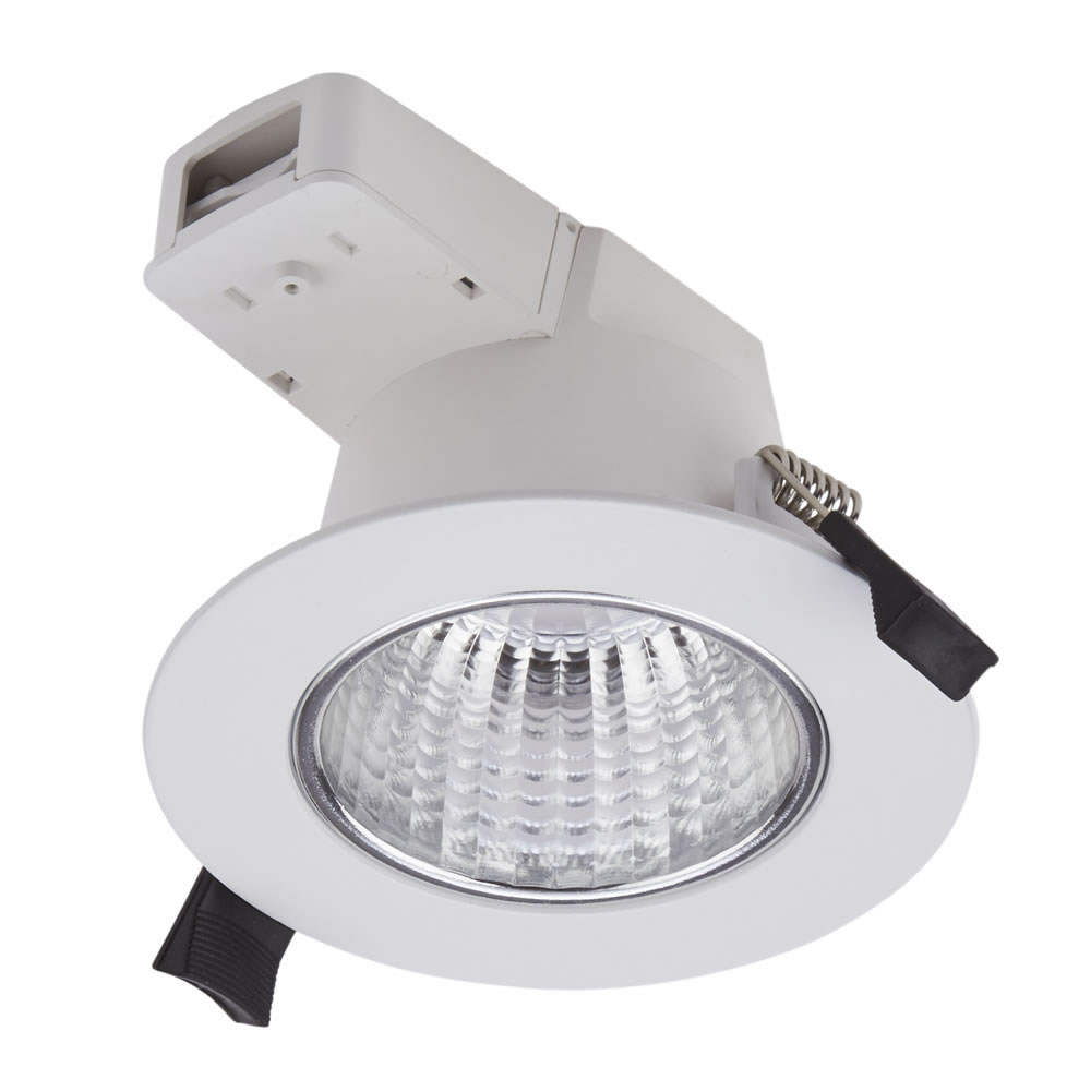 Biard Spot Led Encastrable IP54 Blanc 6W Ø 11x7cm