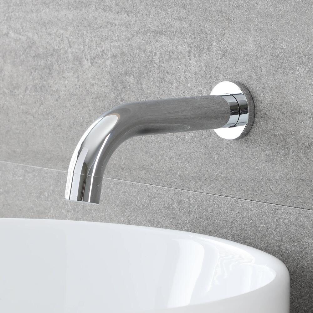 Bec verseur mural pour baignoire ou lavabo – chromé - Mirage