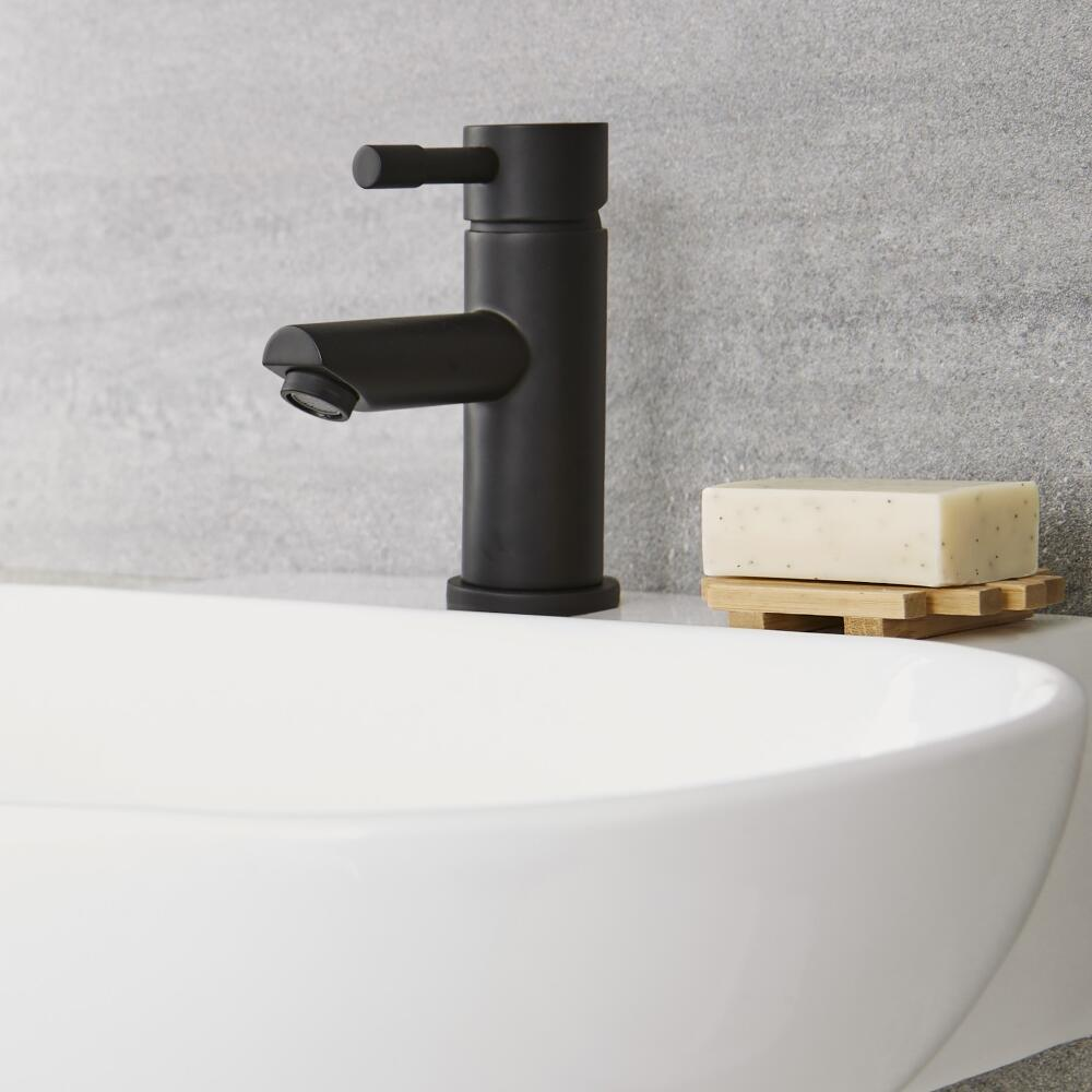 Mitigeur lavabo noir - Nox