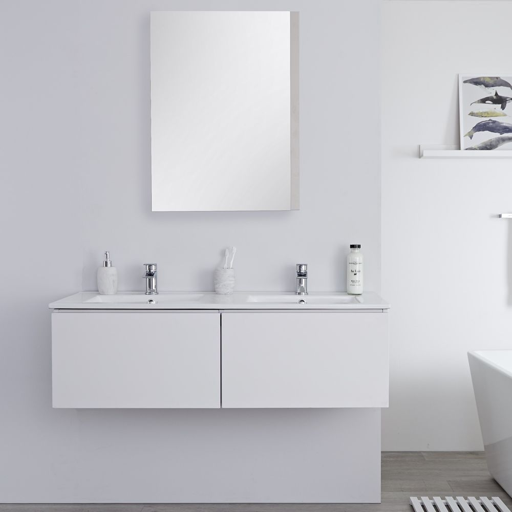 Design Salle De Bain Blanc Mat