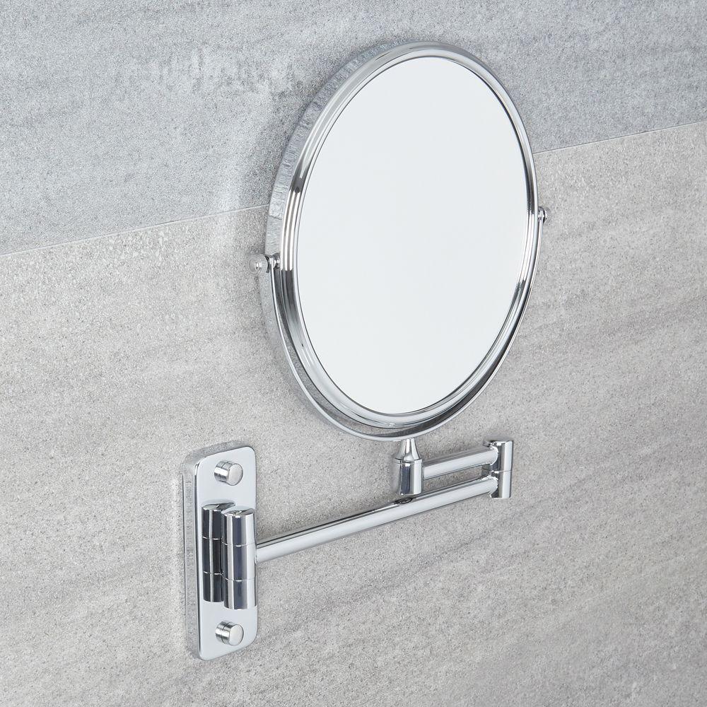 Miroir de Salle de Bains grossissant Ø 16cm