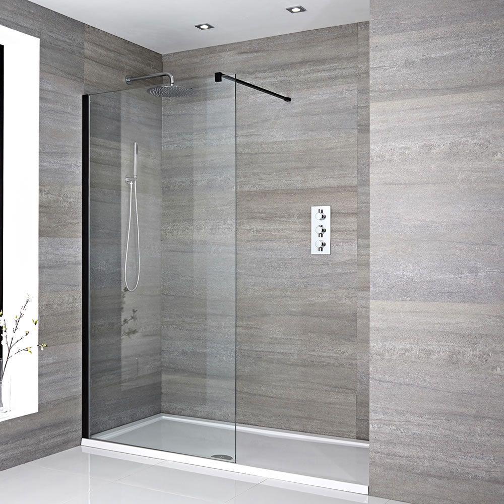 douche italienne avec receveur de douche  multiples