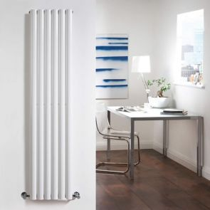 Radiateur Design Vertical Blanc Vitality 160cm x 35,4cm x 5,8cm 841 Watts