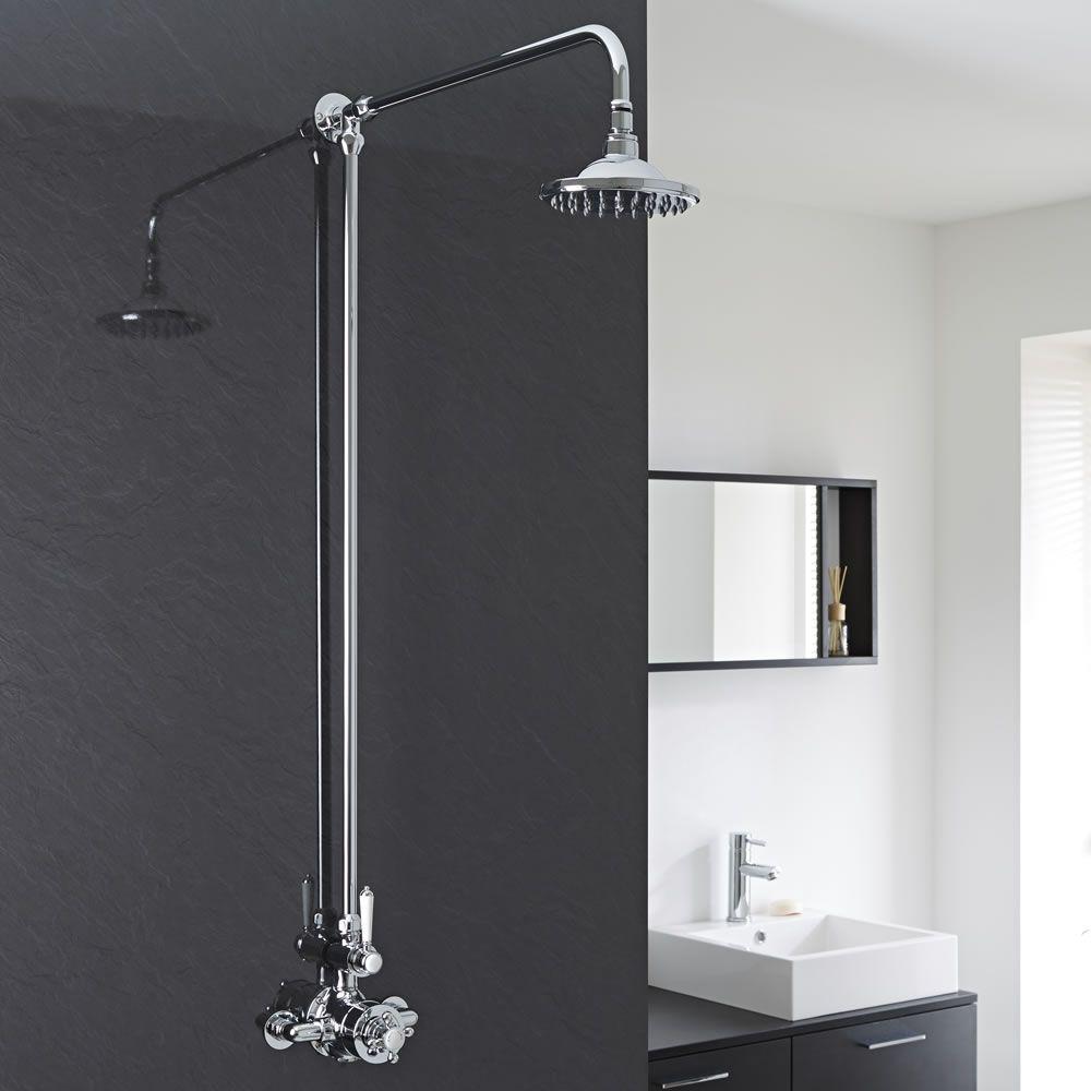 colonne de douche thermostatique r tro une fonction. Black Bedroom Furniture Sets. Home Design Ideas