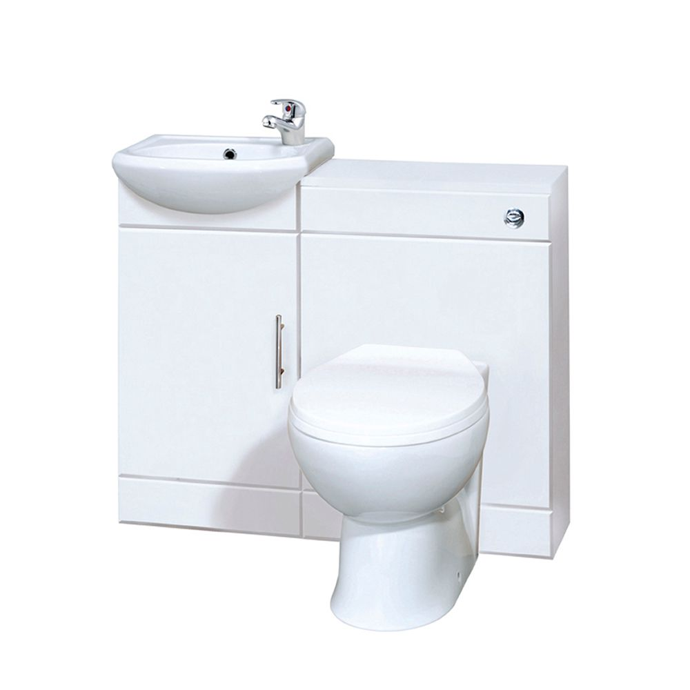 ensemble meuble sous lavabo toilette wc blanc 920 x 752. Black Bedroom Furniture Sets. Home Design Ideas