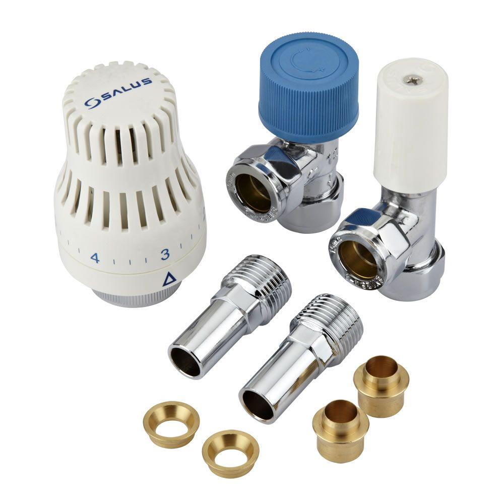 Robinet thermostatique de radiateur d 39 angle - Reglage robinet thermostatique ...