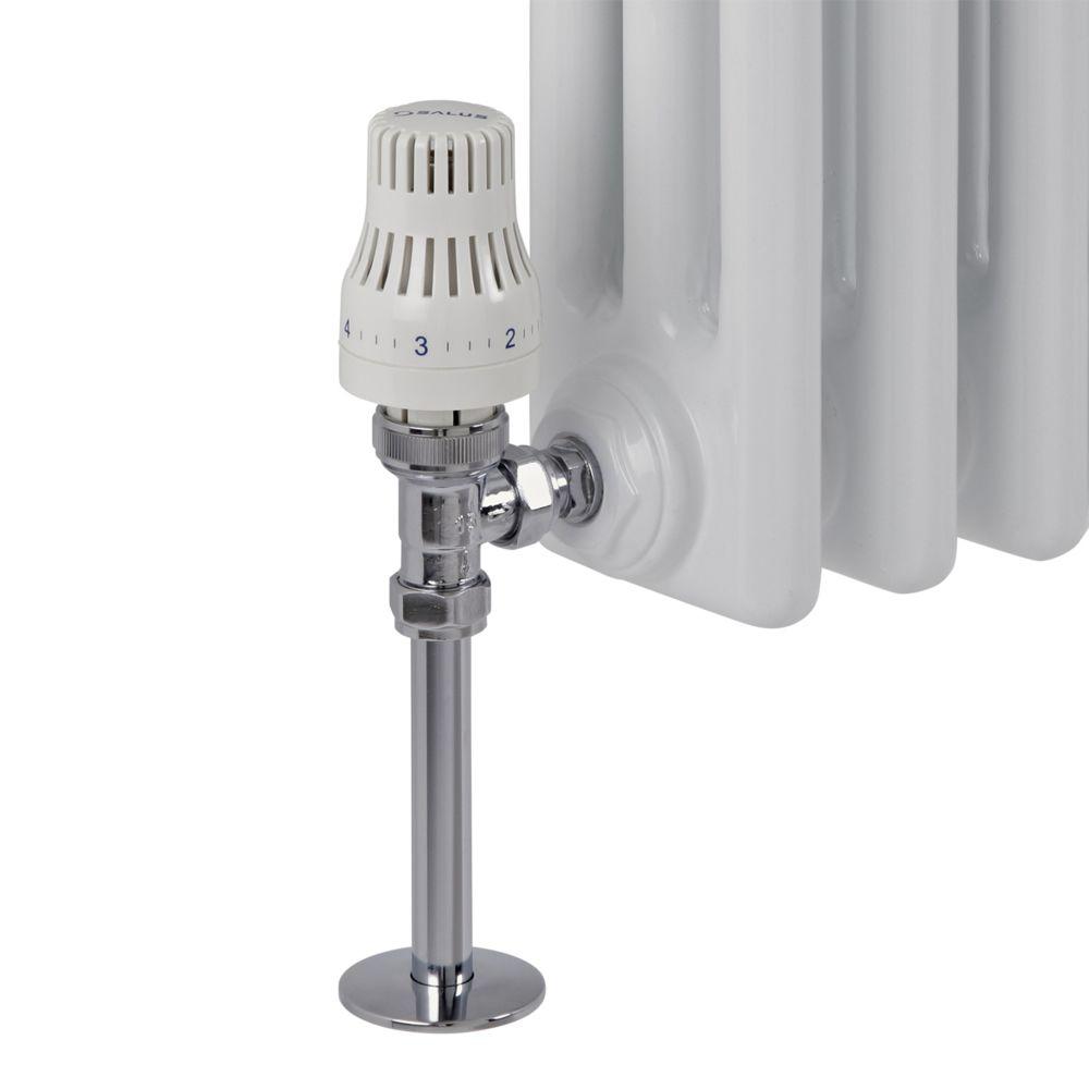 Robinet thermostatique de radiateur d 39 angle - Radiateur avec robinet thermostatique ...