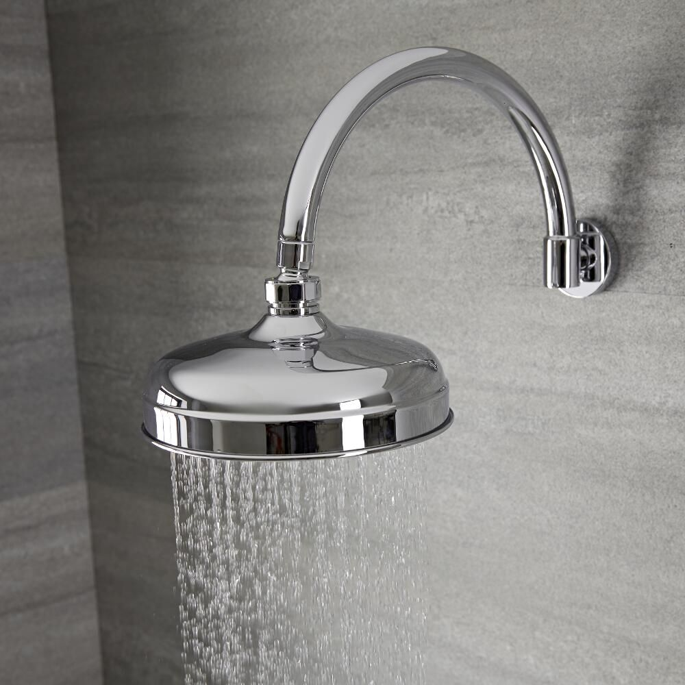 kit de douche encastrable r tro victoria une fonction pomme. Black Bedroom Furniture Sets. Home Design Ideas