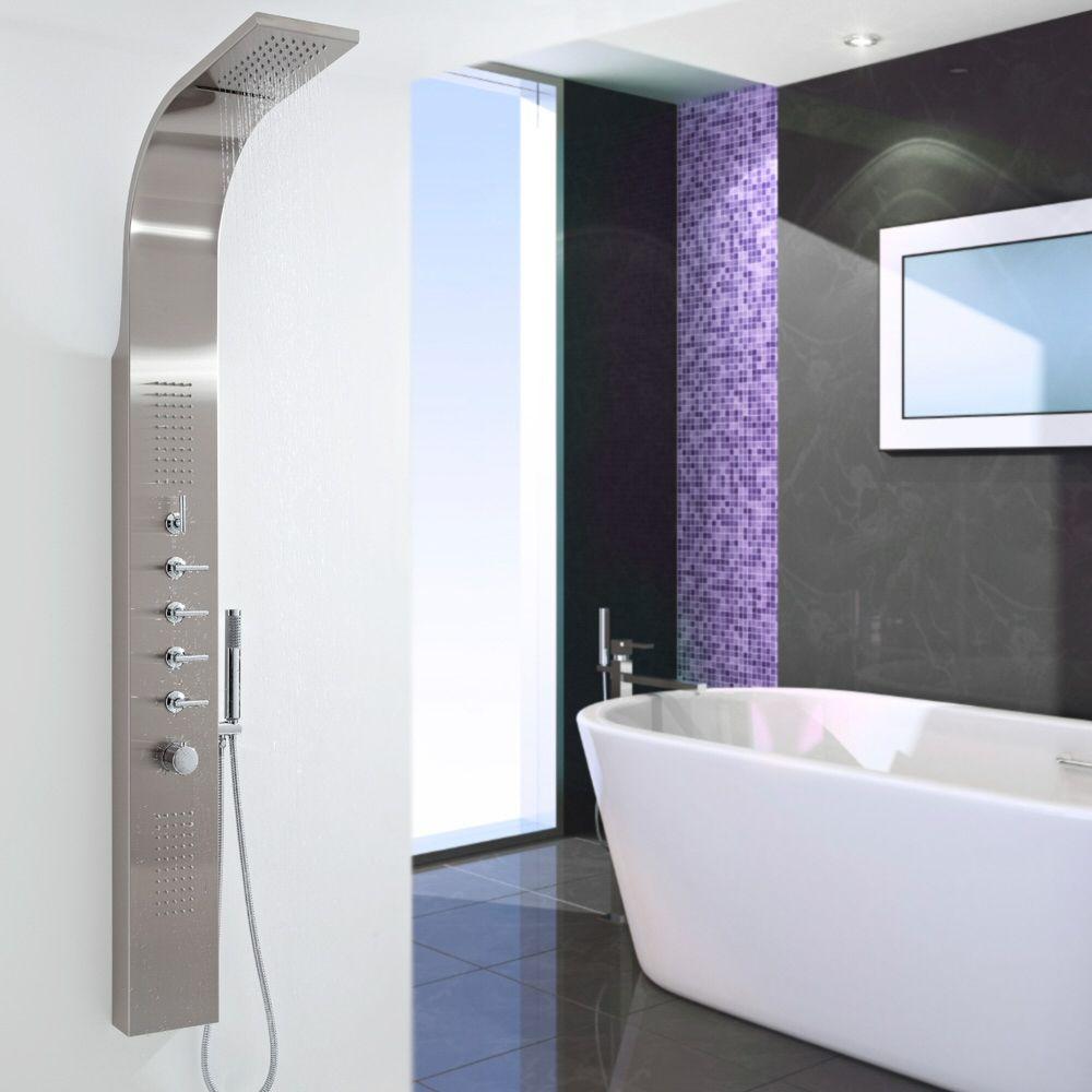 colonne de douche thermostatique niagara. Black Bedroom Furniture Sets. Home Design Ideas