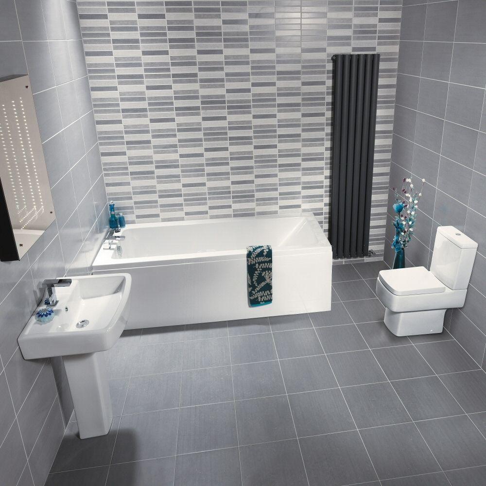 ensemble baignoire lavabo et toilette wc moderne bliss. Black Bedroom Furniture Sets. Home Design Ideas