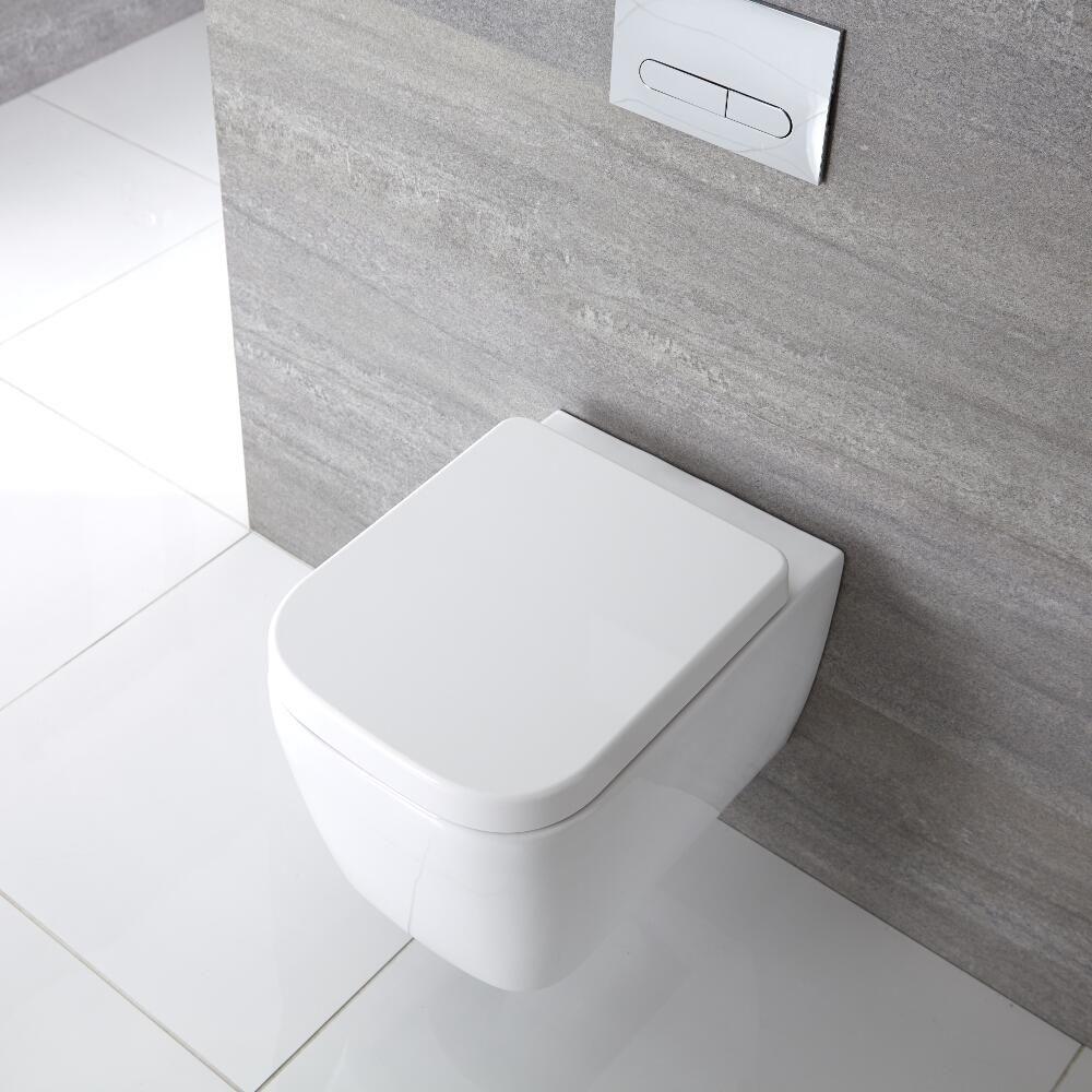 cuvette wc suspendu milton. Black Bedroom Furniture Sets. Home Design Ideas