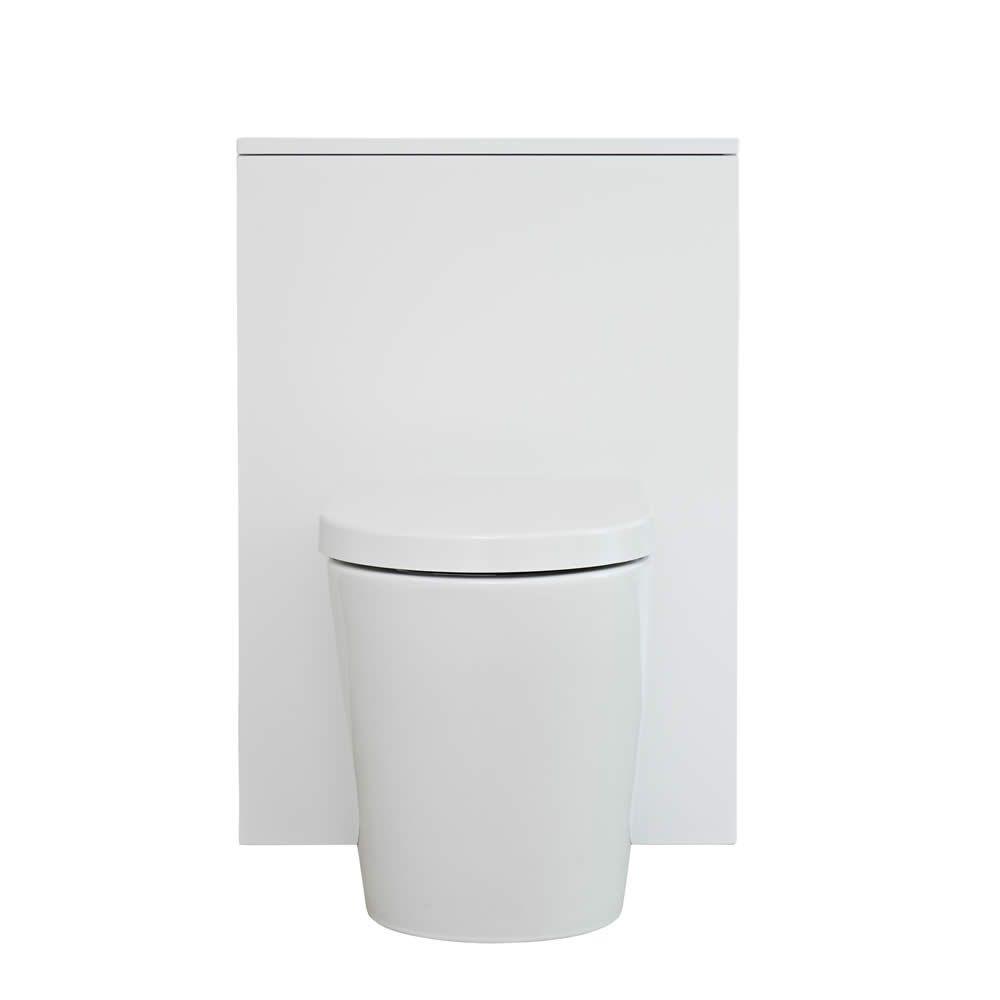 meuble wc newington 60cm blanc mat