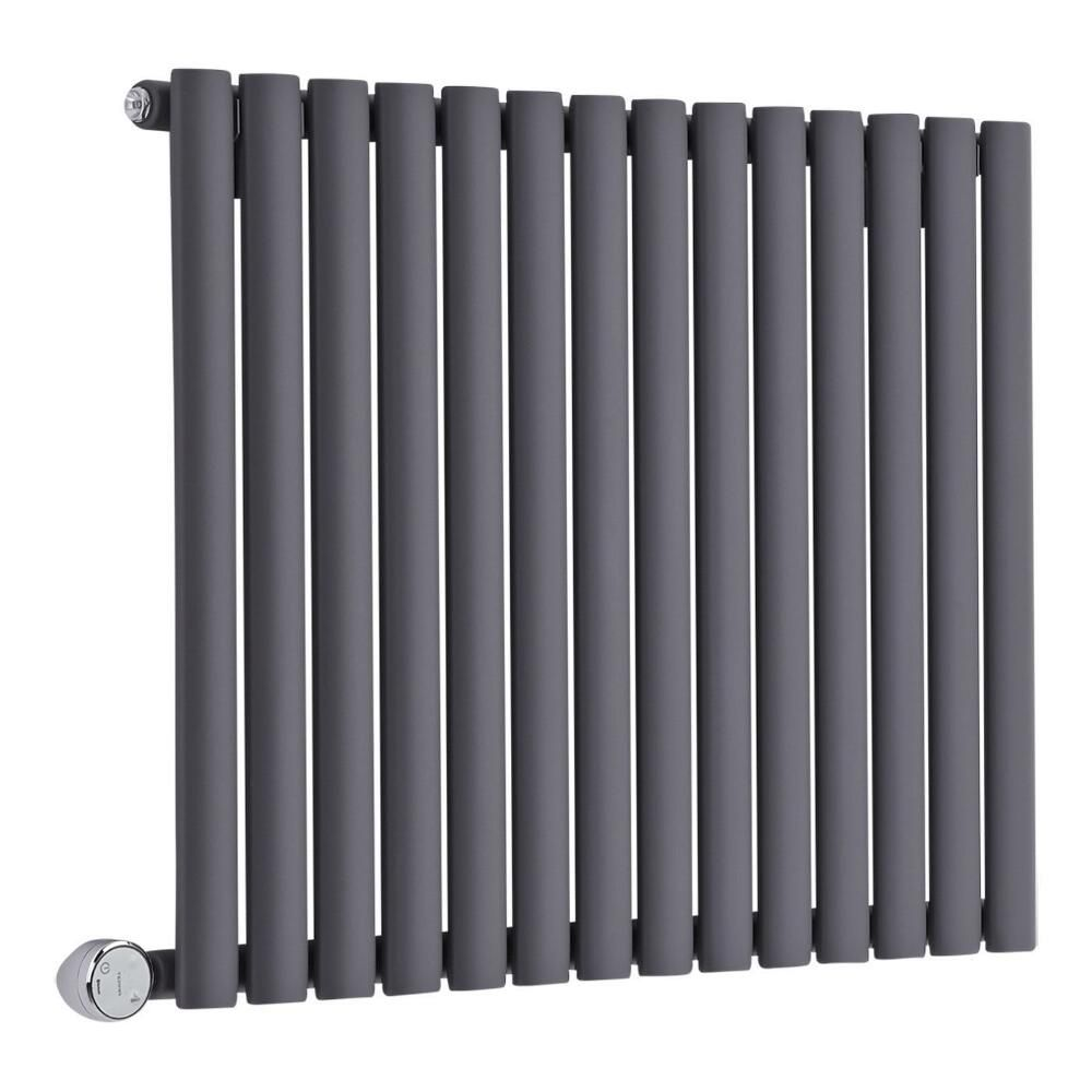 radiateur design lectrique horizontal anthracite vitality. Black Bedroom Furniture Sets. Home Design Ideas