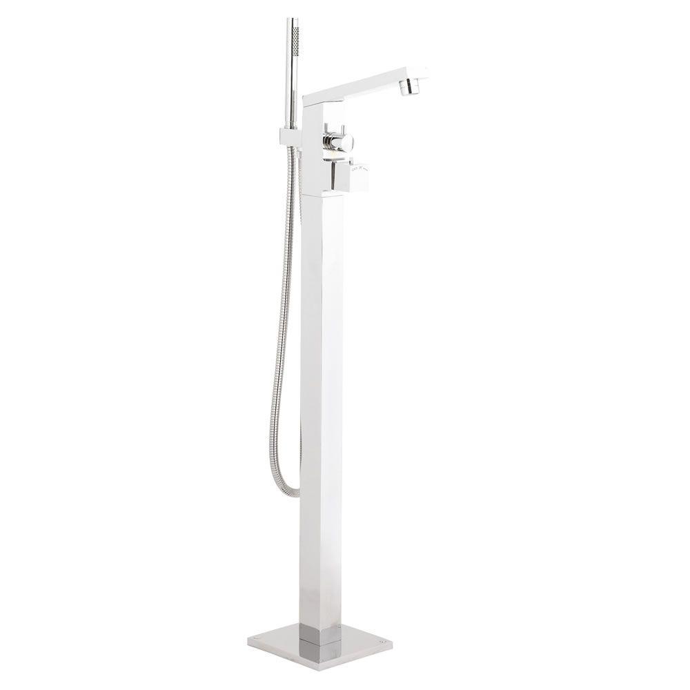 mitigeur thermostatique bain douche pour baignoire lot kubix. Black Bedroom Furniture Sets. Home Design Ideas