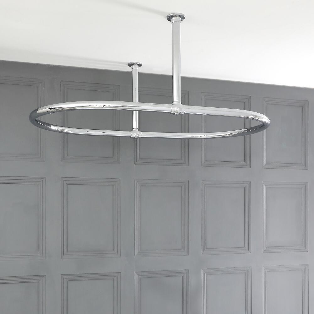 tringle rideau de douche ovale. Black Bedroom Furniture Sets. Home Design Ideas