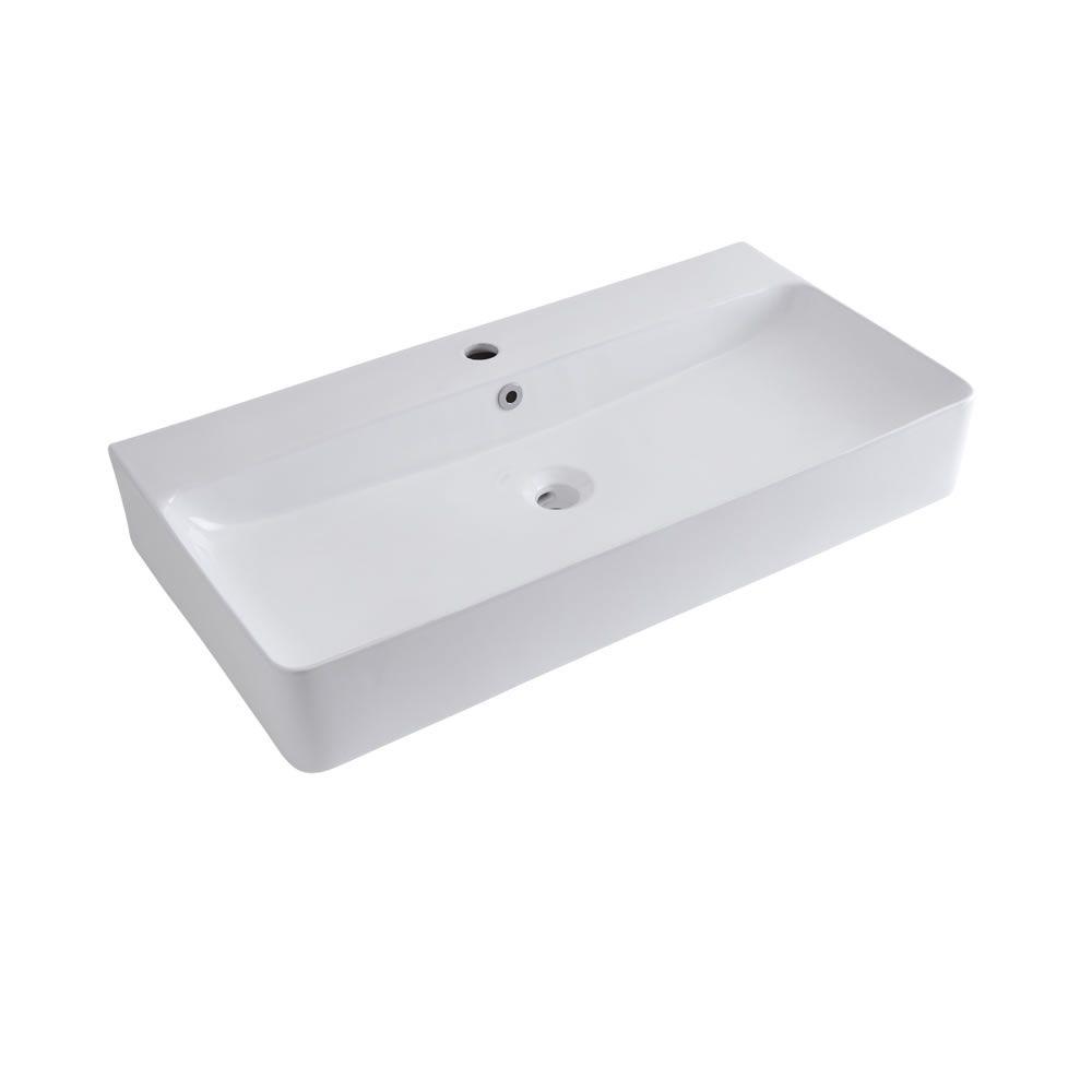 Vasque à poser 80 x 41cm Exton
