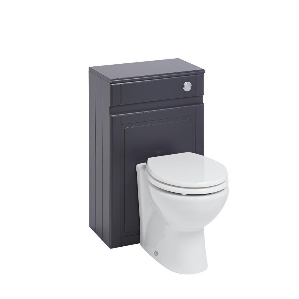 Meuble coffrage anthracite pour wc charlton Meuble wc design