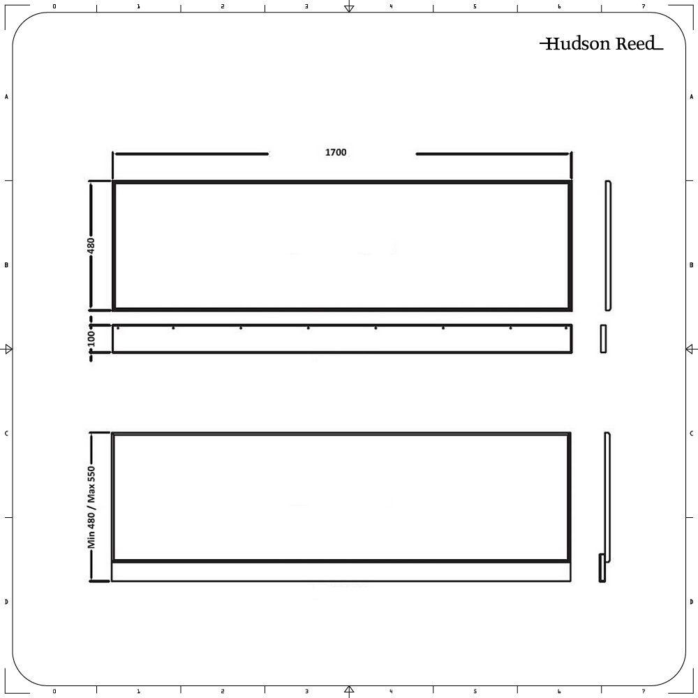 tablier de baignoire 170cm. Black Bedroom Furniture Sets. Home Design Ideas