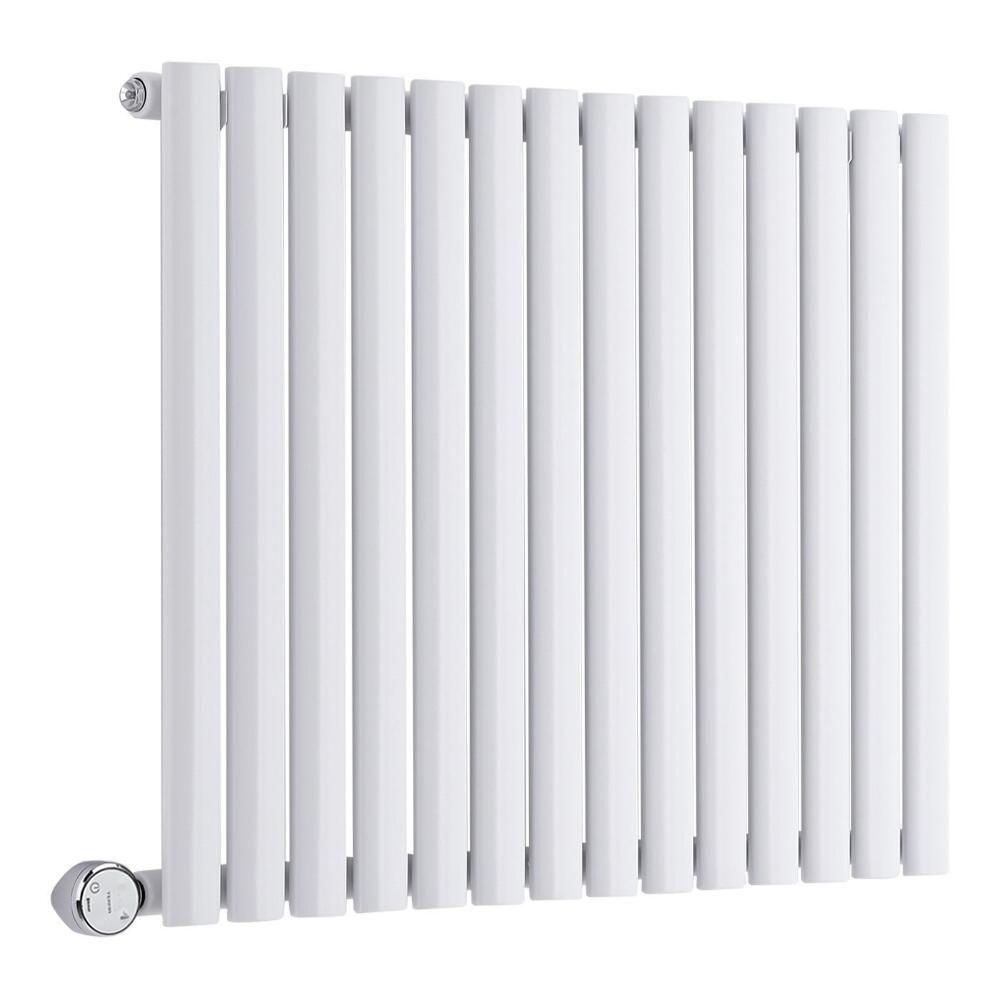 radiateur design lectrique horizontal blanc vitality 63 5cm x 83 4cm x 5 6cm. Black Bedroom Furniture Sets. Home Design Ideas