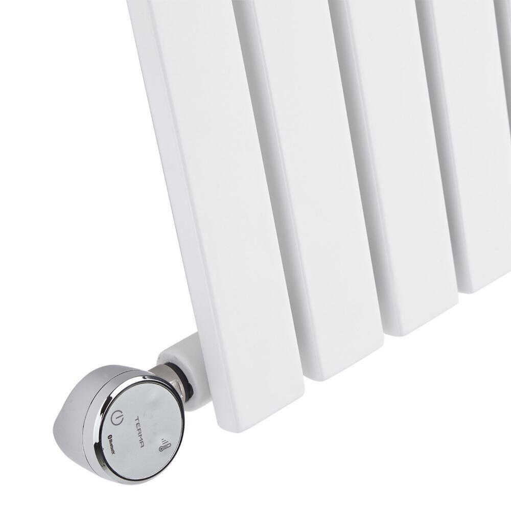 radiateur design lectrique horizontal blanc sloane 63 5cm x 100cm x 5 4cm. Black Bedroom Furniture Sets. Home Design Ideas