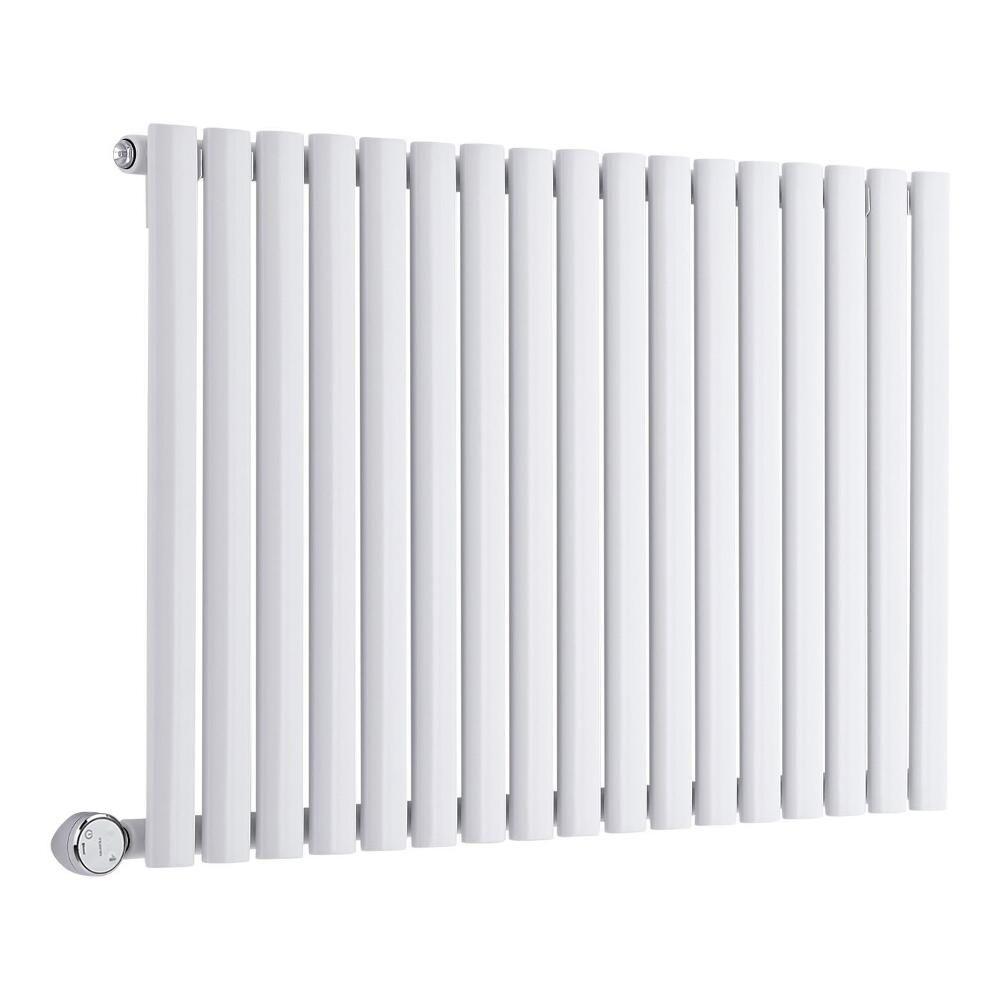 radiateur design lectrique horizontal blanc vitality 63 5cm x 100cm x 5 5cm. Black Bedroom Furniture Sets. Home Design Ideas