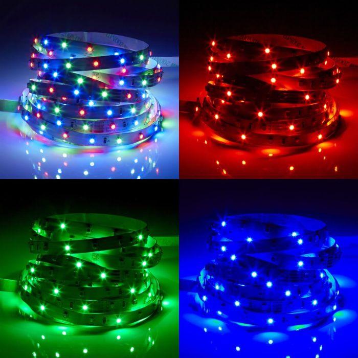 Biard Ruban LED 3528 RGB 5m