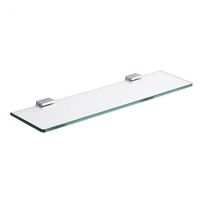 Tablette salle de bain 12x50cm Liso
