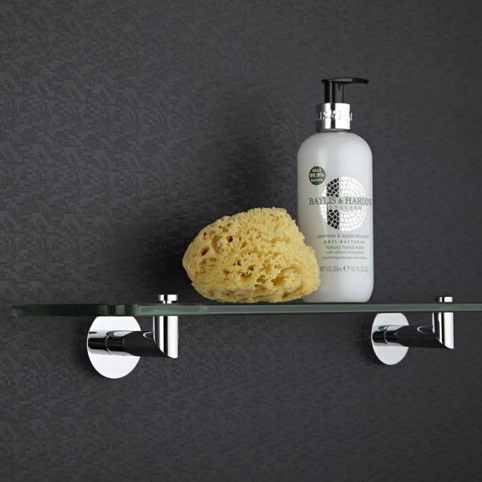 Tablette salle de bain 12x50cm Parade