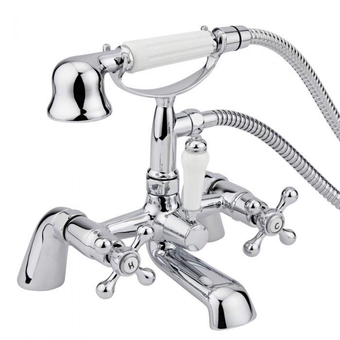 Robinet bain douche rétro Derwent