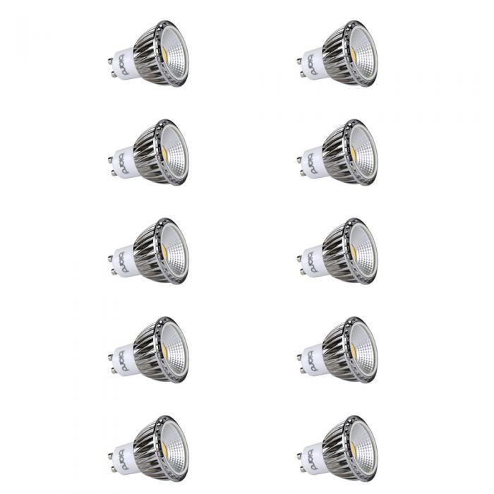 Biard Lot de 10 Ampoules spot LED Dimmables 5W GU10