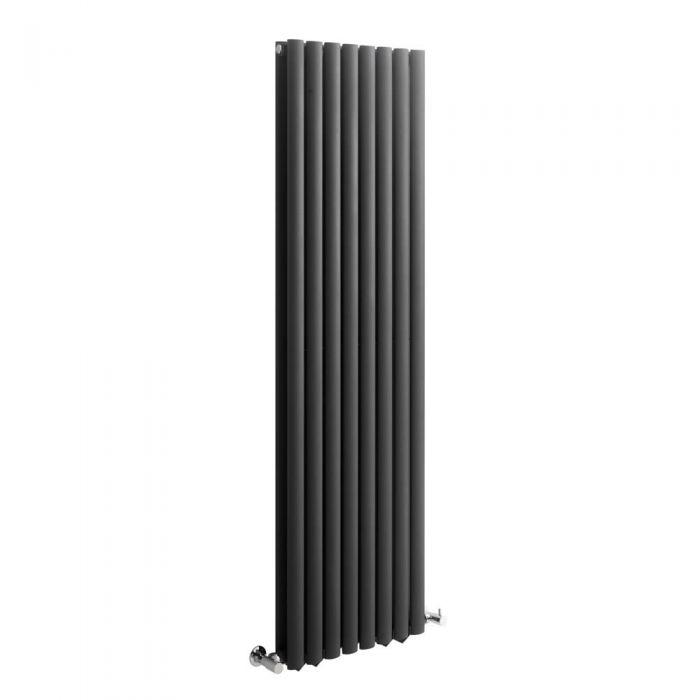 Radiateur Design Vertical Anthracite Vitality 160cm x 47,2cm x 7,8cm 1638 Watts