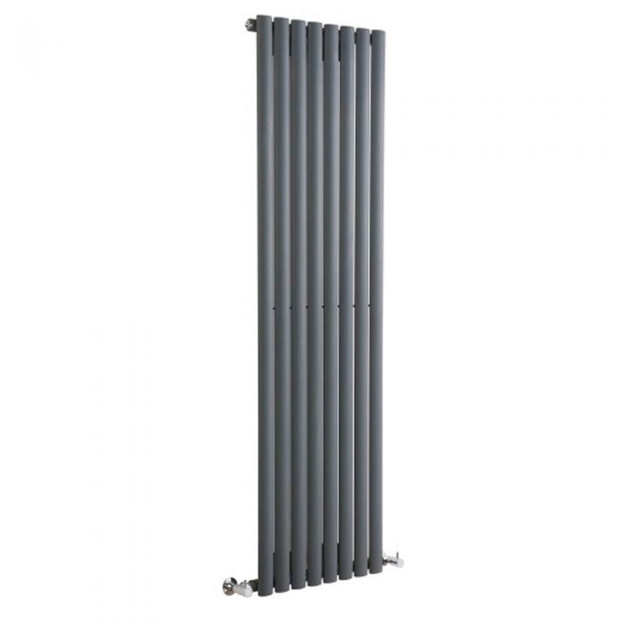 Radiateur Design Vertical Anthracite Vitality 178cm x 47,2cm x 5,6cm 1190 Watts