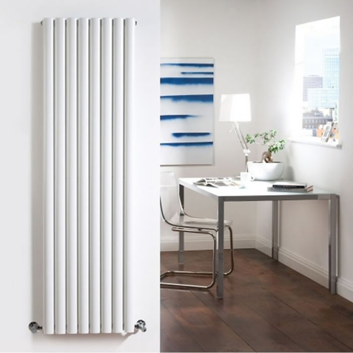 Radiateur Design Vertical Blanc Vitality 178cm x 47,2cm x 7,8cm 1868 Watts