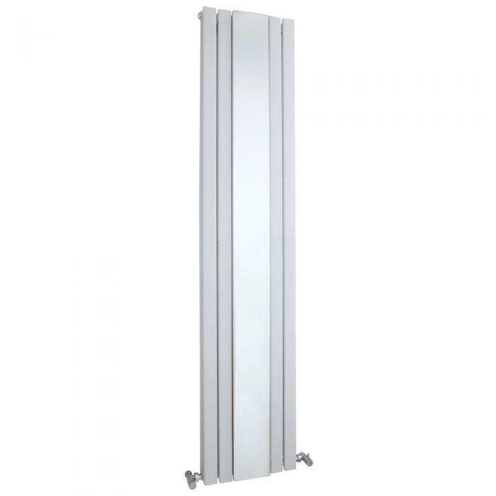 Radiateur Design Vertical Blanc Sloane 180cm x 38,1cm x 13cm 1696 Watts
