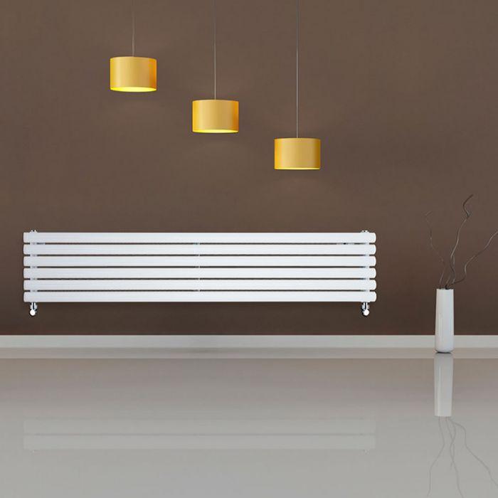 Radiateur Design Horizontal Blanc Vitality 35,4cm x 178cm x 7,8cm 1325 Watts