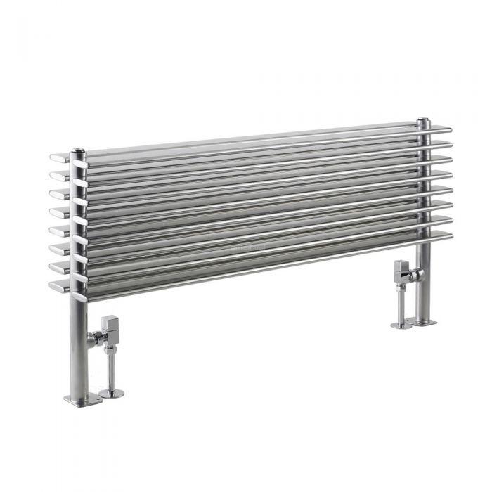 Radiateur Design Horizontal Argent Parallel 50,4cm x 100cm x 14,6cm 1016 Watts