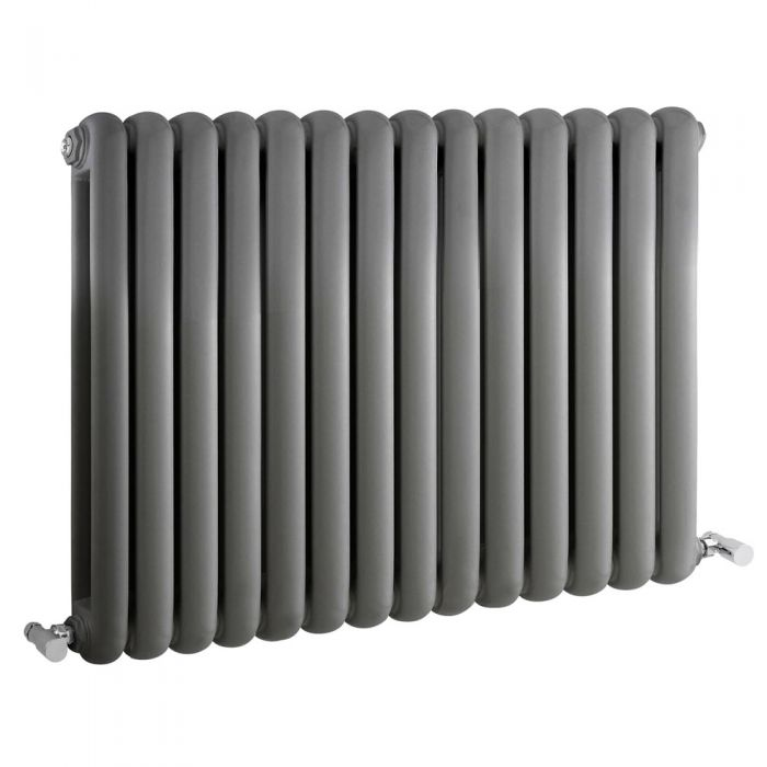 Radiateur Design Horizontal Anthracite Saffre 63,5cm x 86,3cm x 8cm 1496 Watts