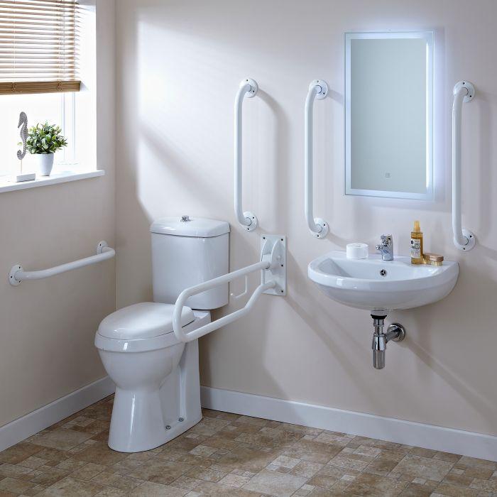 Lavabo & WC Handicapé Doc M