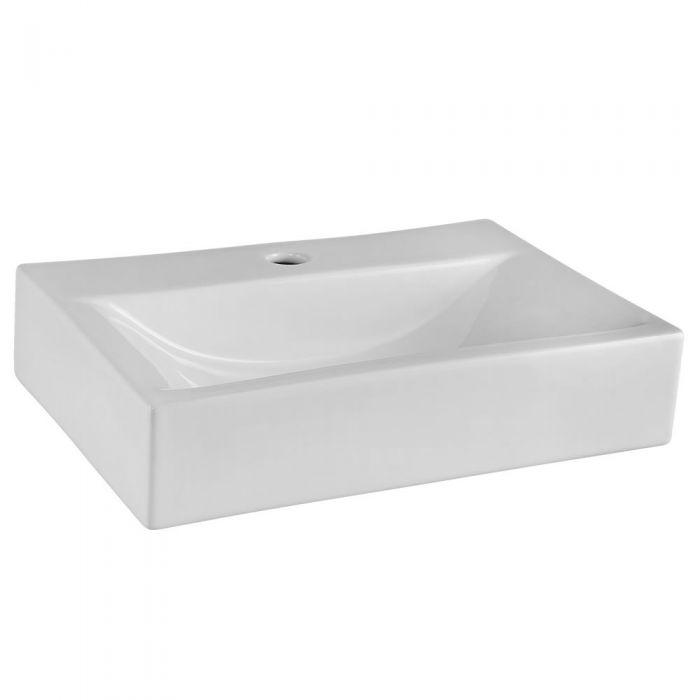 Vasque à poser rectangulaire 45x32cm céramique Vessel