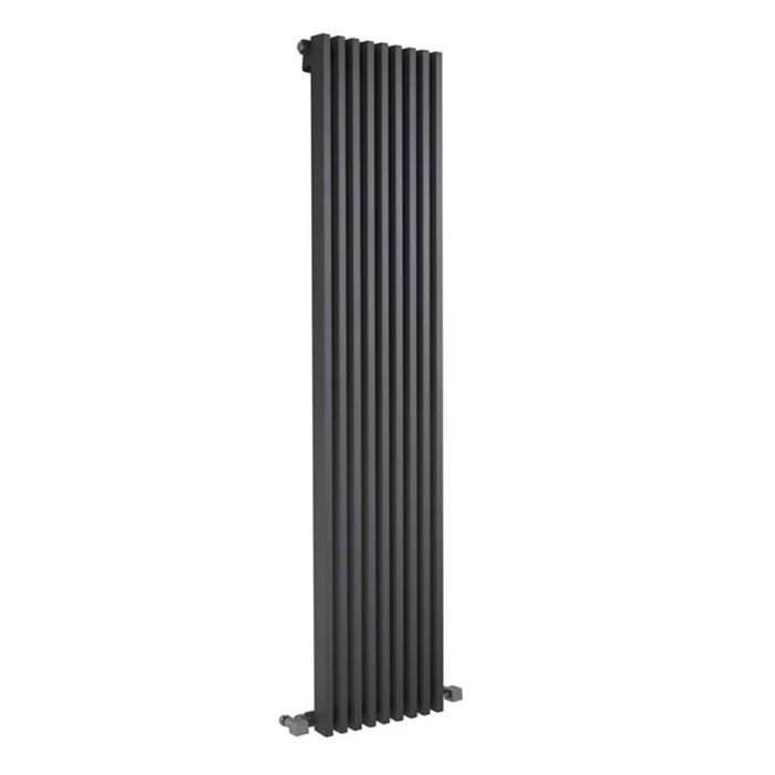 Radiateur Design Vertical Anthracite Parallel 178cm x 34,2cm x 8,4cm 1177 Watts