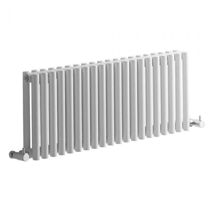 Radiateur Design Horizontal Blanc Vitality 30cm x 76cm x 7,8cm 620 Watts