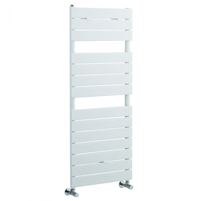 Sèche-Serviettes Blanc Elgin 121,3cm x 50cm x 4,5cm 489 Watts