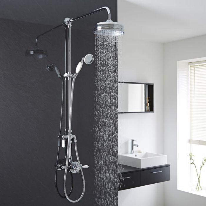 colonne de douche r tro 2 fonctions victorian. Black Bedroom Furniture Sets. Home Design Ideas