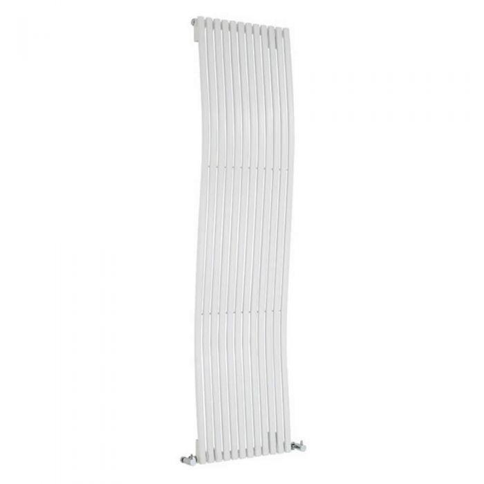 Radiateur Design Vertical Blanc Palero 160cm x 46cm x 9cm 1185 Watts