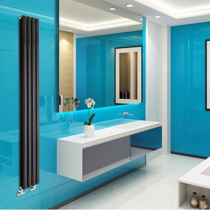 Radiateur Design Vertical Noir Vitality 178cm x 23,6cm x 7,8cm 934 Watts